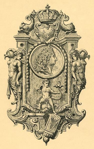 Louis XIV Of France「Steel Key Plate」:写真・画像(3)[壁紙.com]