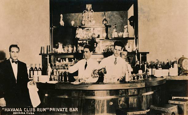 Havana Club Rum, Private Bar, Havana, Cuba, C1900S.:ニュース(壁紙.com)