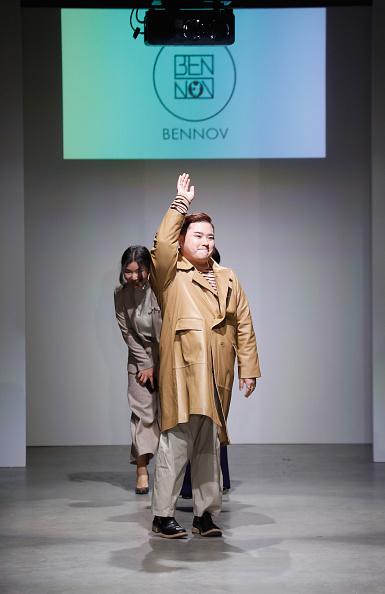 Brian Mint「Nolcha Shows New York Fashion Week Fall Winter 2019 Presented By InstaSleep Mint Melts  BENNOV Runway Show」:写真・画像(19)[壁紙.com]
