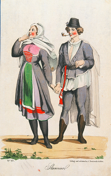 Chromolithograph「Trentsenskys Peoples Costumes」:写真・画像(15)[壁紙.com]