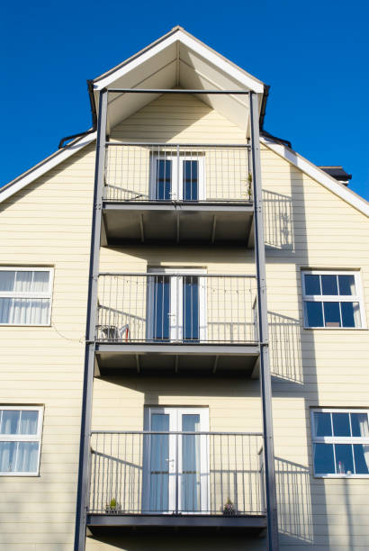 Balconies on modern apartments:ニュース(壁紙.com)