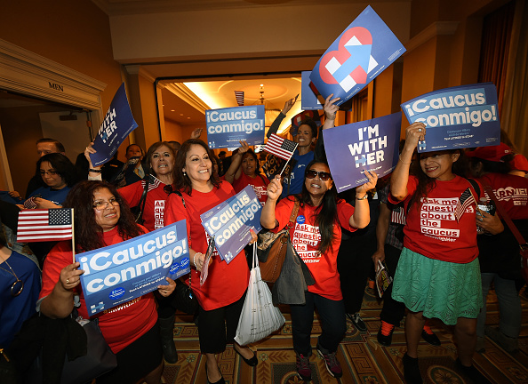 Nevada「Nevada Hosts Its Democratic Caucus」:写真・画像(13)[壁紙.com]