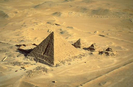 Ancient Civilization「Egypt,Giza,Mycerinus,smallest of the three great pyramids」:スマホ壁紙(3)