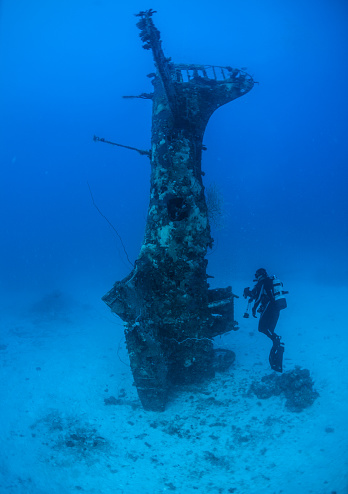 World War II「Underwater World War II aircraft」:スマホ壁紙(12)