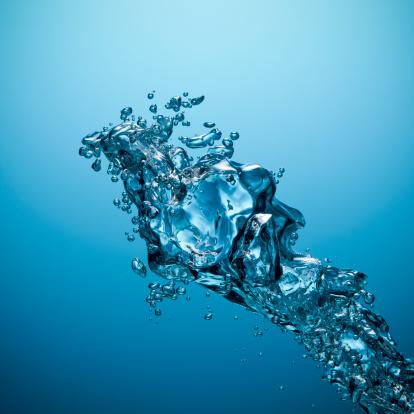 Splashing「Underwater bubbles - Oxygen Water Blue Sea Drop Abstract Backgrounds」:スマホ壁紙(8)