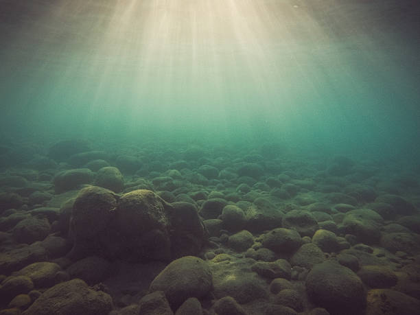 Underwater Light Rays:スマホ壁紙(壁紙.com)