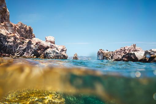 Aegean Sea「Underwater View」:スマホ壁紙(17)