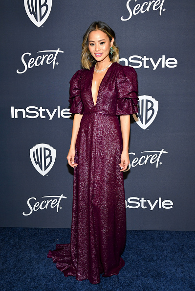 Purple Dress「21st Annual Warner Bros. And InStyle Golden Globe After Party - Arrivals」:写真・画像(2)[壁紙.com]