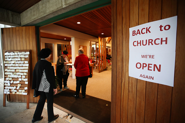 Church「Church Services Resume In New Zealand As Restrictions On Gatherings Are Eased」:写真・画像(6)[壁紙.com]