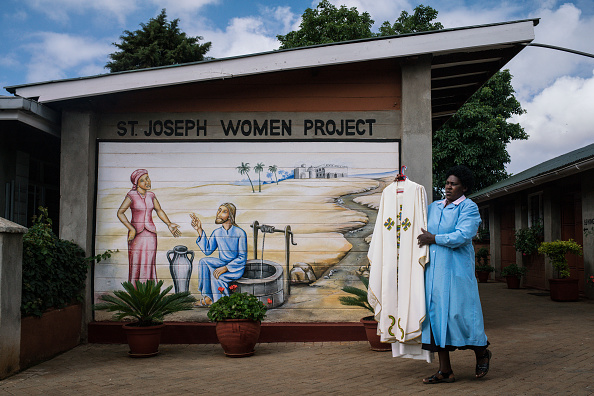 Nichole Sobecki「Final Preparations Are Made For The Arrival Of Pope Francis To Kenya」:写真・画像(5)[壁紙.com]