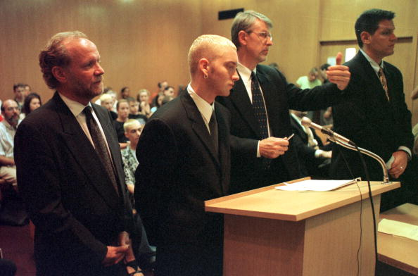 Courthouse「Rapper Eminem Sentenced One Year Probation」:写真・画像(13)[壁紙.com]