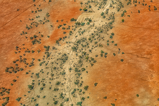 Queensland「Outback Australia in drought from the Air」:スマホ壁紙(8)