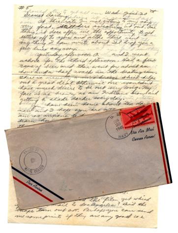 World War II「Dearest darling - letter from US serviceman to his wife」:スマホ壁紙(13)