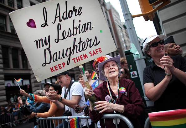 USA「Gay Pride Parade Held In New York City」:写真・画像(15)[壁紙.com]