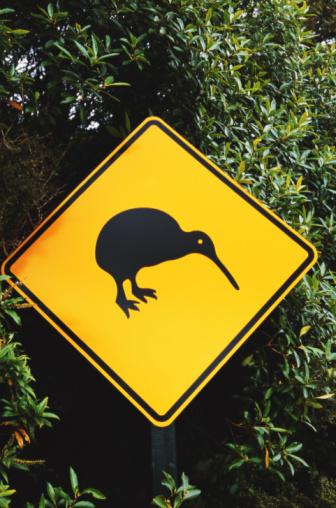 New Zealand Culture「Kiwi road sign」:スマホ壁紙(15)
