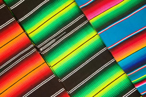 スカーフ「ブランケット、Serapes 、メキシコの鮮やかな背景、斜め模様」:スマホ壁紙(9)