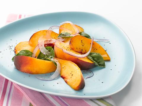 Peach「Peaches w Red Onion & Basil」:スマホ壁紙(16)