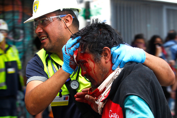 Physical Injury「Ongoing Protests In Chile」:写真・画像(8)[壁紙.com]