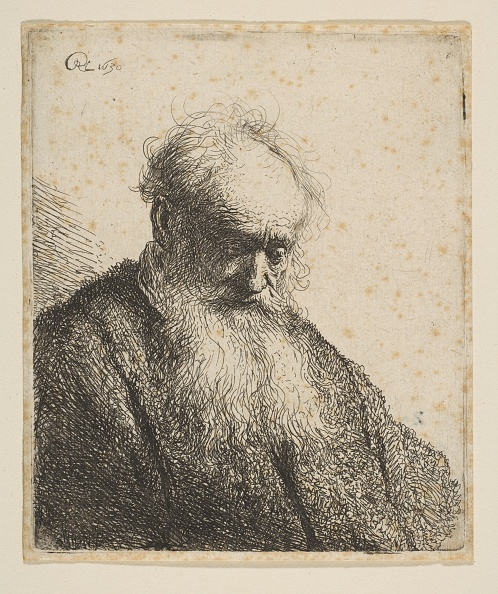 Slanted「Bust Of An Old Man With Flowing Beard: The Head Inclined Three-Quarters Right」:写真・画像(14)[壁紙.com]