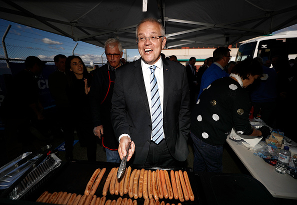 Politician「Scott Morrison Campaigns In Tasmania」:写真・画像(3)[壁紙.com]