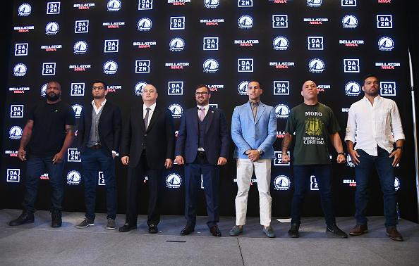Wanderlei Silva「Bellator-DAZN Announcement Press Conference」:写真・画像(4)[壁紙.com]