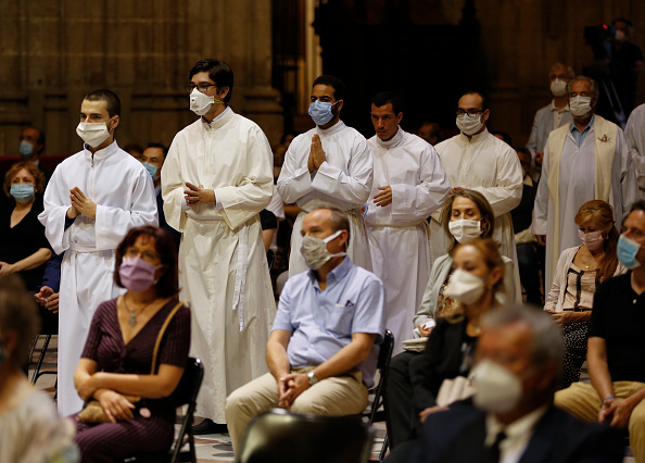 Holiday - Event「Mass Tribute For Covid Victims At Seville's Cathedral」:写真・画像(9)[壁紙.com]