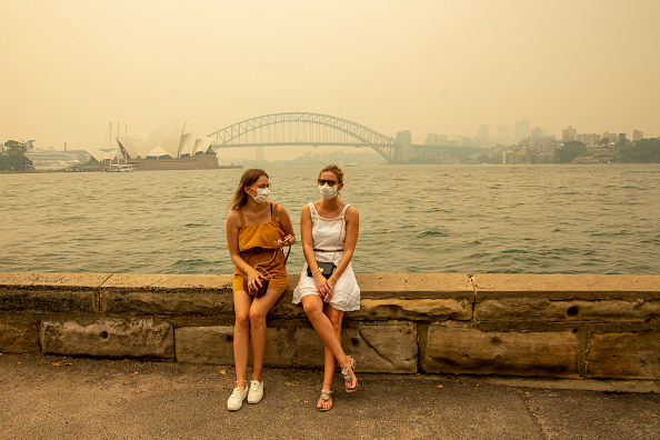Smoke - Physical Structure「Smoke Haze Blankets Sydney As Bushfires Continue To Burn Across NSW」:写真・画像(18)[壁紙.com]