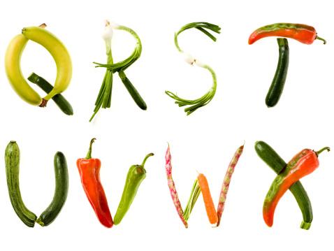 T 「XXL Healthy Food Alphabet」:スマホ壁紙(5)