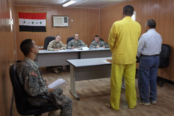 Camp Cropper「US Military Holds Thousands Of Detainees In Baghdad Prison」:写真・画像(11)[壁紙.com]