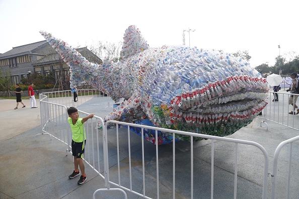 Environmental Conservation「Plastic Whale Shows Ocean Pollution Problem」:写真・画像(15)[壁紙.com]