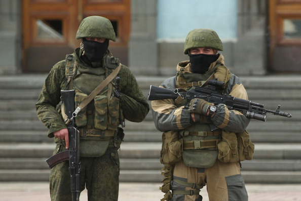 Russian Military「Concerns Grow In Ukraine Over Pro Russian Demonstrations In The Crimea Region」:写真・画像(15)[壁紙.com]