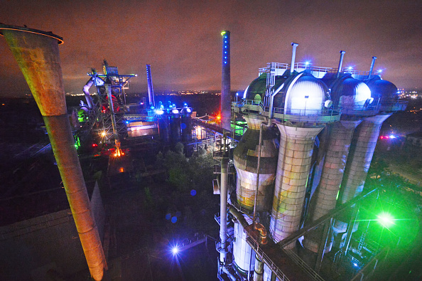 Metal Industry「Former Steel Mill Is Now Recreational Park」:写真・画像(5)[壁紙.com]