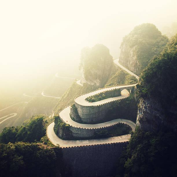 Tianmenshan Landscapes:スマホ壁紙(壁紙.com)