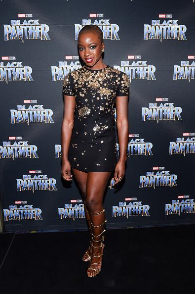 Danai Gurira「Toronto Premiere of 'Black Panther'」:写真・画像(7)[壁紙.com]