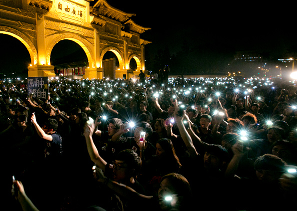 Taiwan「Crowds Gather In Taipei To Show Support For Hong Kong Pro Democracy Rallies」:写真・画像(17)[壁紙.com]