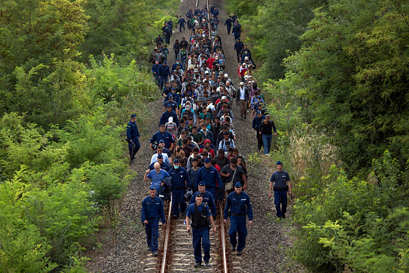 Protection「Migrants Continue To Arrive In Hungary」:写真・画像(6)[壁紙.com]
