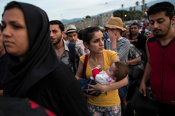 Passenger Craft「Migrants Continue To Arrive On Greek Island Of Kos」:写真・画像(16)[壁紙.com]