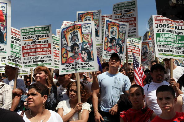 Arizona「Activists Across U.S. March For Immigration Reform」:写真・画像(8)[壁紙.com]