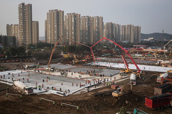 Building - Activity「Wuhan Two New Hospitals Are Under Construction」:写真・画像(6)[壁紙.com]