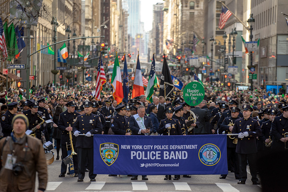 Parade「New York City's Annual St. Patrick's Day Parade Marches Up Fifth Avenue」:写真・画像(14)[壁紙.com]