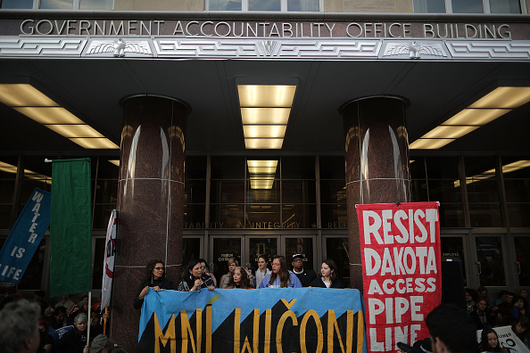 United States Army Corps of Engineers「Activists Demonstrate Against The Dakota Access Pipeline Project」:写真・画像(19)[壁紙.com]