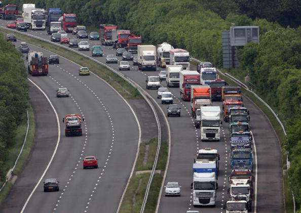 Semi-Truck「Protests Around The Country As Fuel Prices Continue To Rise」:写真・画像(9)[壁紙.com]