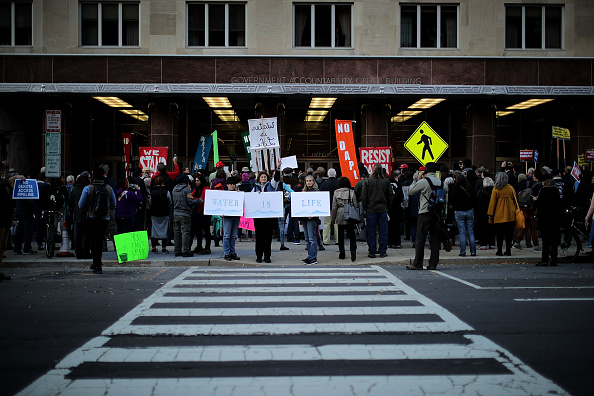 United States Army Corps of Engineers「Activists Demonstrate Against The Dakota Access Pipeline Project」:写真・画像(12)[壁紙.com]