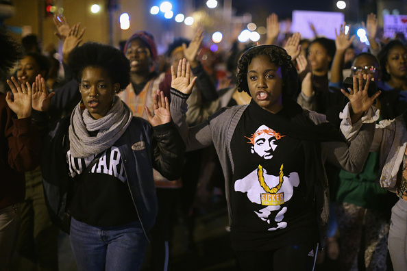 Teenager「Hundreds Rally In DC After Grand Jury Decision In Michael Brown Shooting」:写真・画像(12)[壁紙.com]