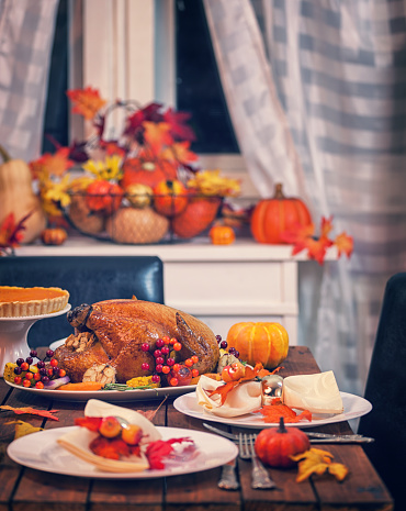 Maple Leaf「Roasted Thanksgiving Turkey with Side Dishes」:スマホ壁紙(8)