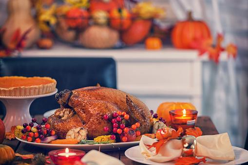かえでの葉「ロースト料理、トルコでの感謝祭」:スマホ壁紙(14)