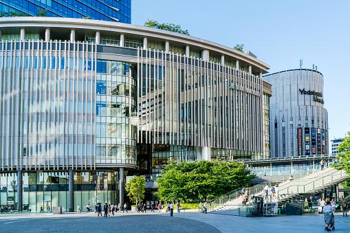 Skyscraper「Urban landscape in Osaka, Japan」:スマホ壁紙(8)