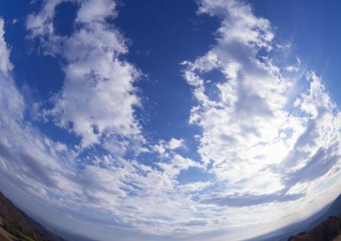 Fish-Eye Lens「Clouds」:スマホ壁紙(8)