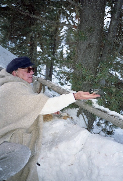自然美「Politician Bettino Craxi holds a little bird in his hand, St. Moritz 1990」:写真・画像(15)[壁紙.com]