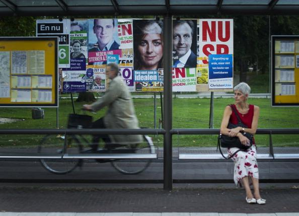 Utrecht「Dutch Prepare For Elections」:写真・画像(14)[壁紙.com]